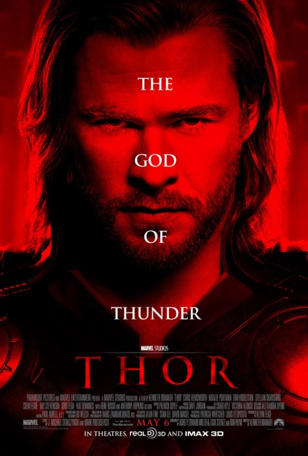 The absolutely bizarre Thor poster