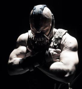 Bane really looks something out of a Rob Zombie film