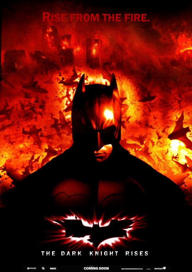 The Dark Knight Symbol Fire 52761